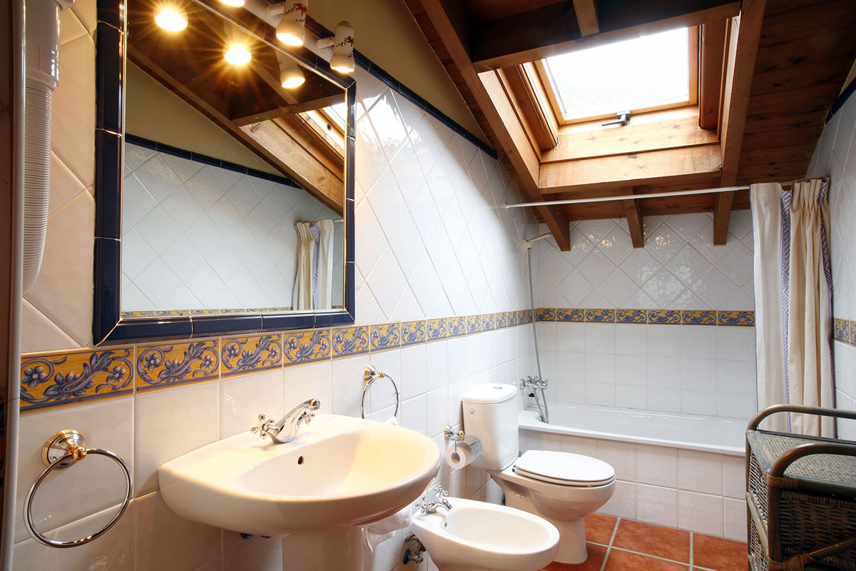 lavabo apartamento rural