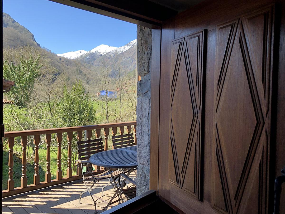 terraza apartamento rural