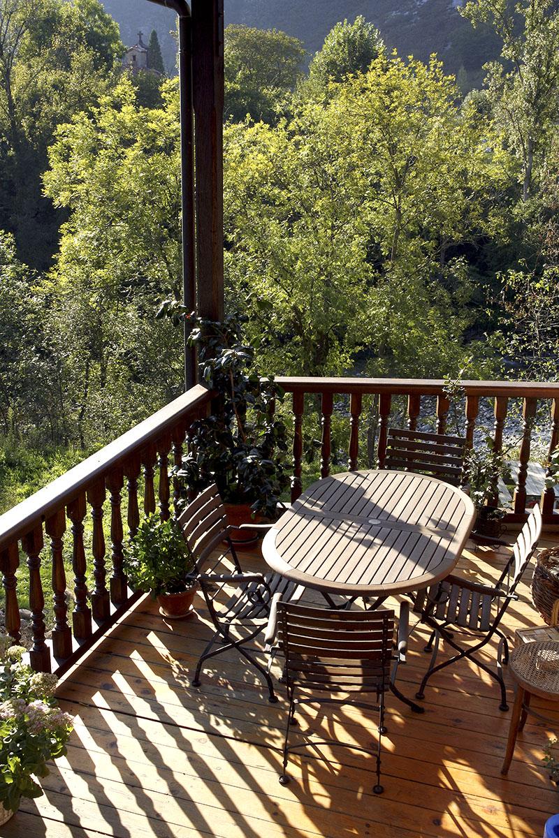 terraza apartamento naturaleza
