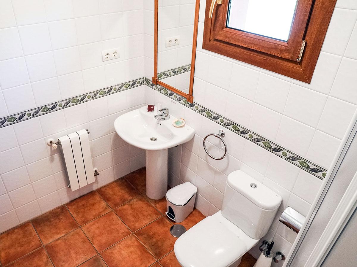 lavabo habitación doble